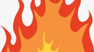 Grand feu de Glaireuse