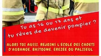 L'école des cadets pompiers