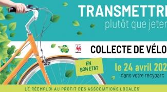 Collecte de vélos en bon état